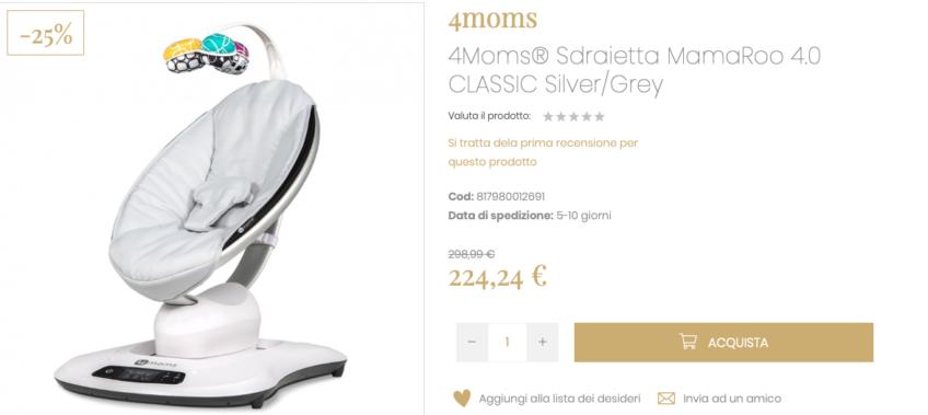 acquisti in gravidanza